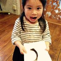 初めてのカット☆ハナちゃん(3歳)