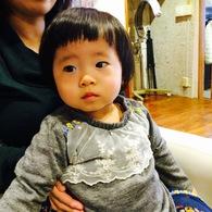短め前髪がとっても似合ってました☆ミオリちゃん(1歳4ヵ月)
