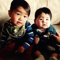 兄弟カット☆コタ君(2歳)レオ君(7ヵ月)