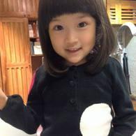 初めての断髪式☆アンちゃん(4歳)