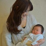 お母さんと赤ちゃんとの記念【 胎毛筆 】