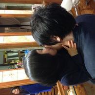 父ちゃん大好き♡アンちゃん(3歳)