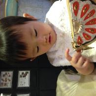 食べるの大好き♪ カオちゃん(1歳)