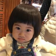 すっかり美容院慣れ♡カエちゃん(2歳)