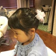 キッズ ヘアアレンジ☆あーちゃん(4歳)